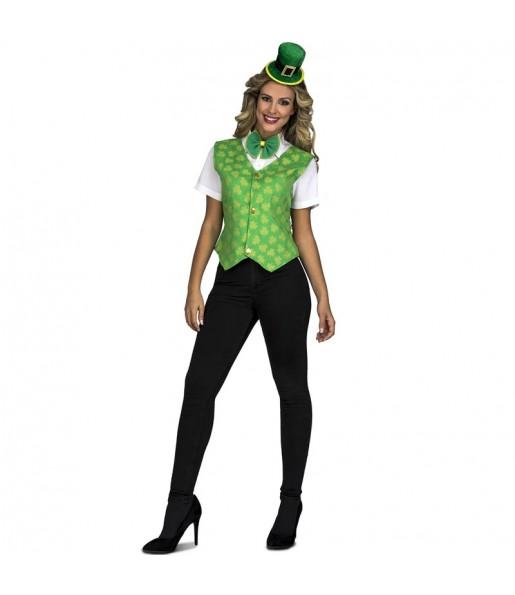 Disfraz de Irlandesa Saint Patrick para mujer