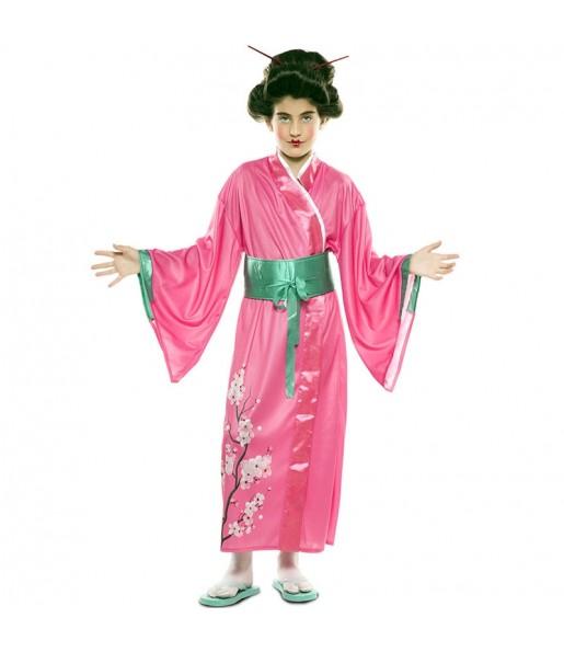 Disfraz de Japonesa para niña