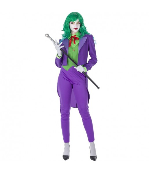 Disfraz de Joker Supervillana para mujer