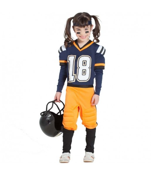 Disfraz de Fútbol Americano NFL para niña
