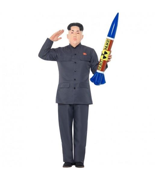 Disfraz de Kim Jong Un para hombre
