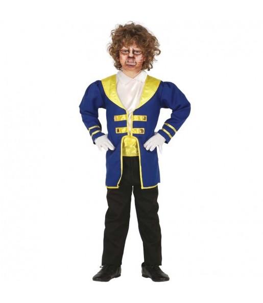 Disfraz de La Bestia para niño