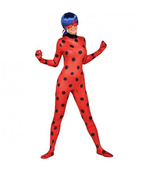Disfraz de Ladybug para mujer