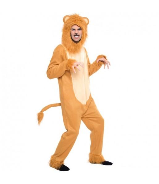 Disfraz de León Cobarde Mago de Oz para adulto