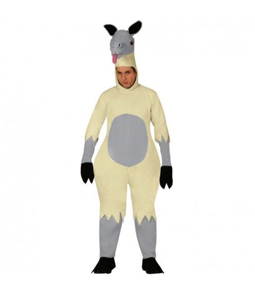 Disfraz de Llama para adulto