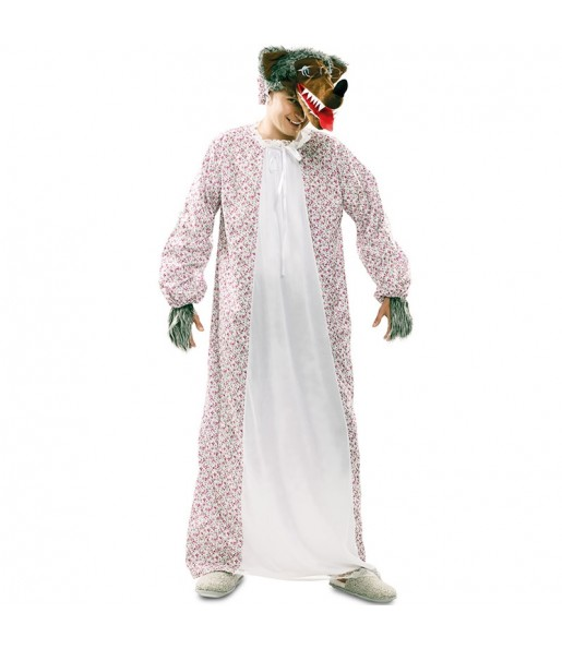 Disfraz de Lobo Caperucita adulto