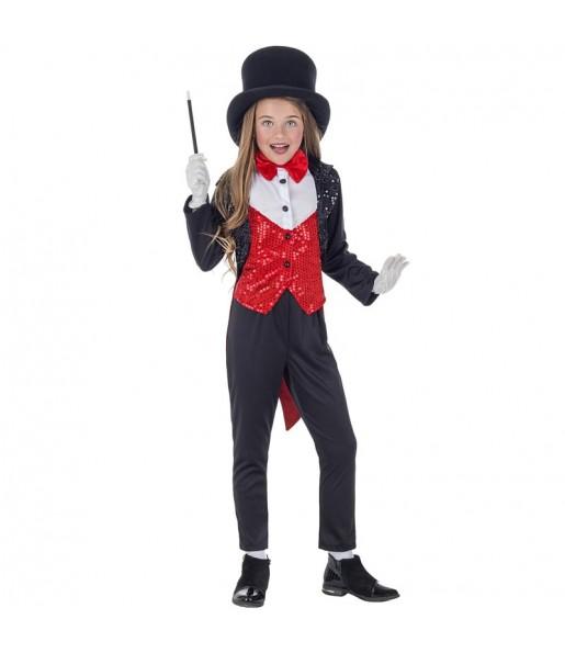 Disfraz de Maga Ilusionista para niña