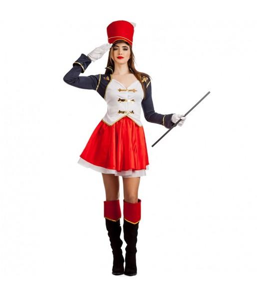 Disfraz de Majorette Soldado para mujer