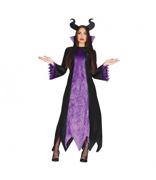 Disfraz de Maléfica Oscura para mujer