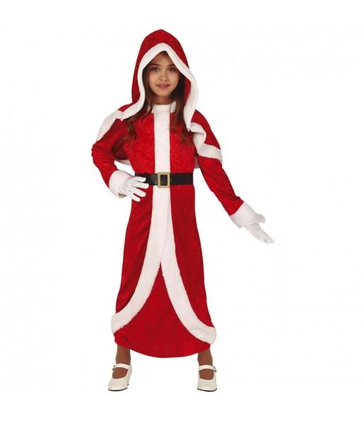 Disfraz de Mamá Noel Navidad para niña