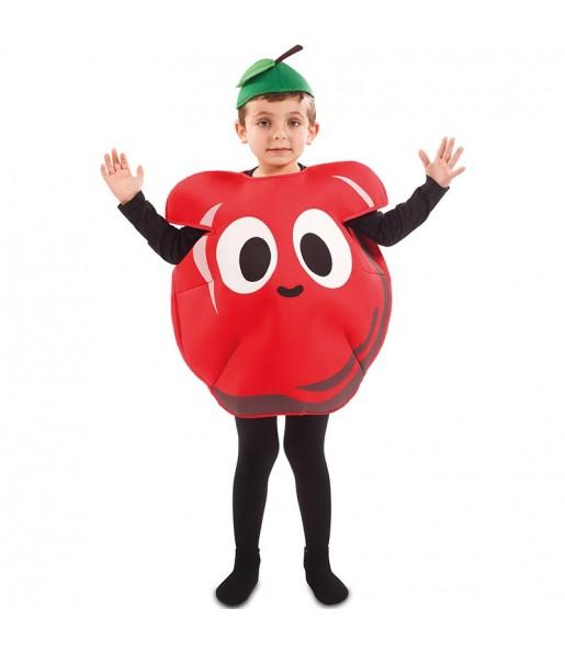 Disfraz de Manzana para niño