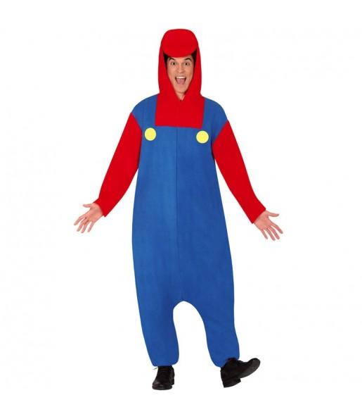 Disfraz de Mario Bros Kigurumi para adulto