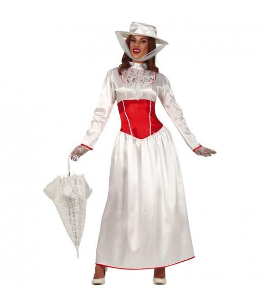 Disfraz de Mary Poppins Victoriana para mujer