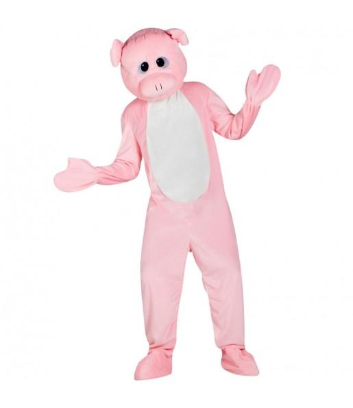 Disfraz de Mascota Cerdo para adulto