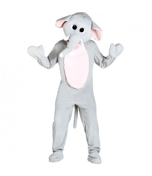 Disfraz de Mascota Elefante para adulto