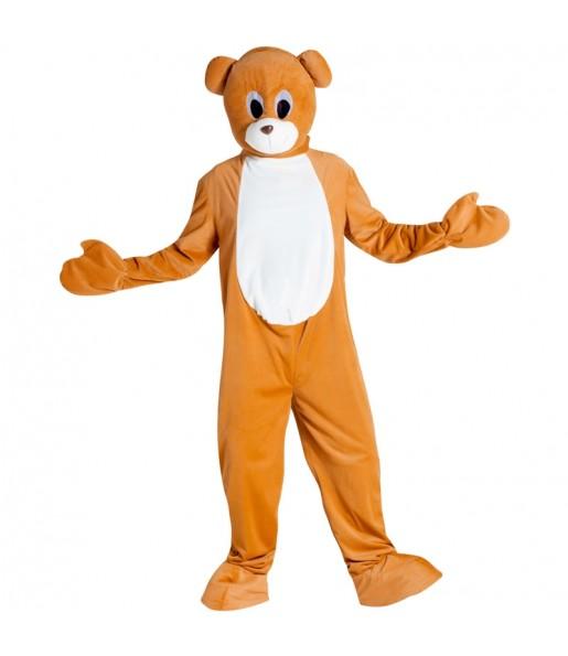 Disfraz de Mascota Oso para adulto