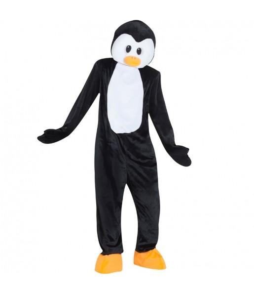Disfraz de Mascota Pingüino para adulto