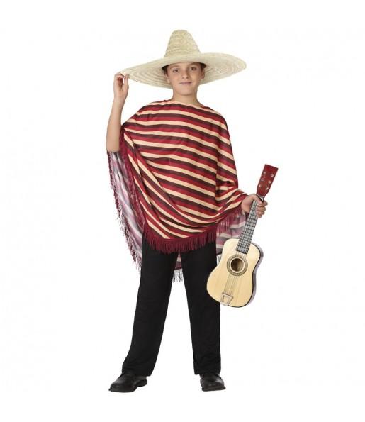 Disfraz de Mexicano a Rayas para niño