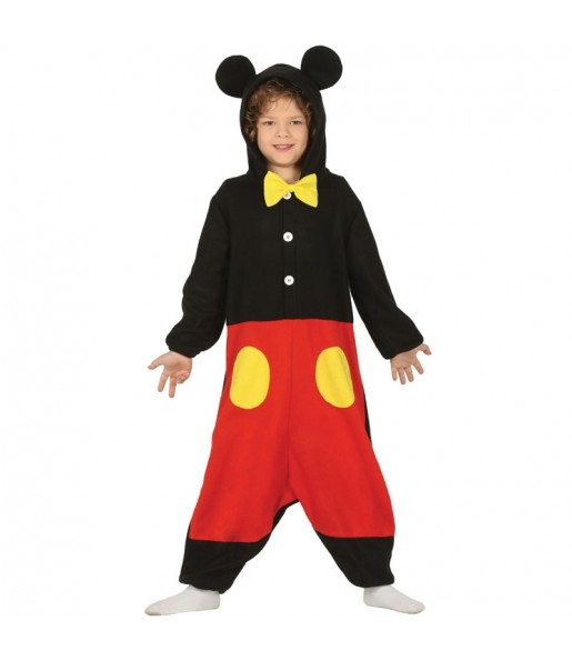 Disfraz de Mickey Mouse Kigurumi para niño