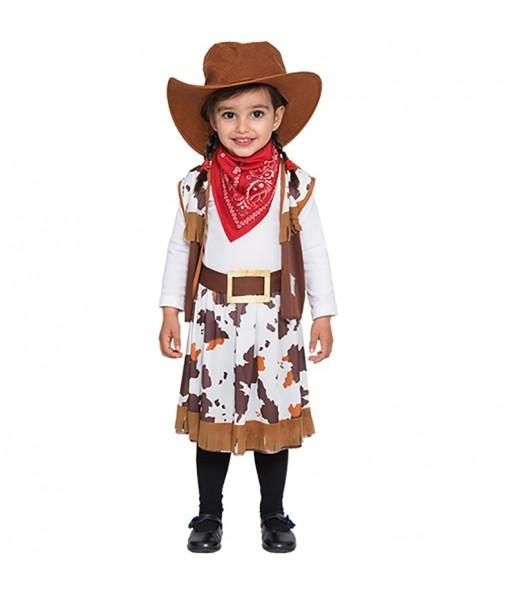 Disfraz de Mini Vaquera