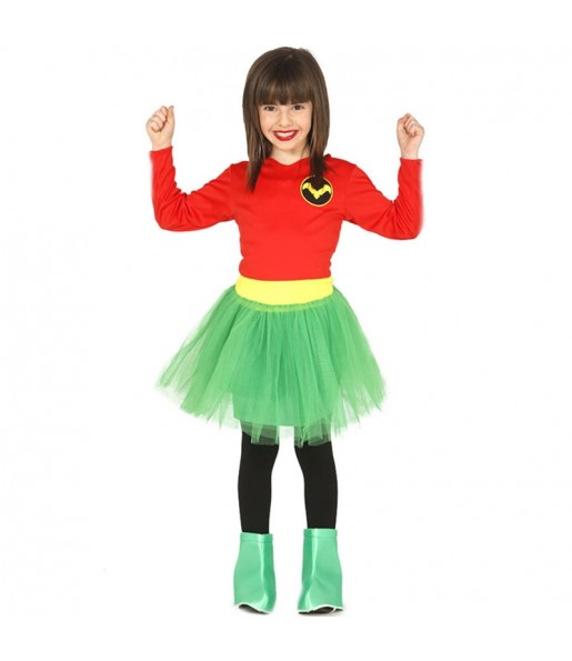 Disfraz de Miss Robin Infantil