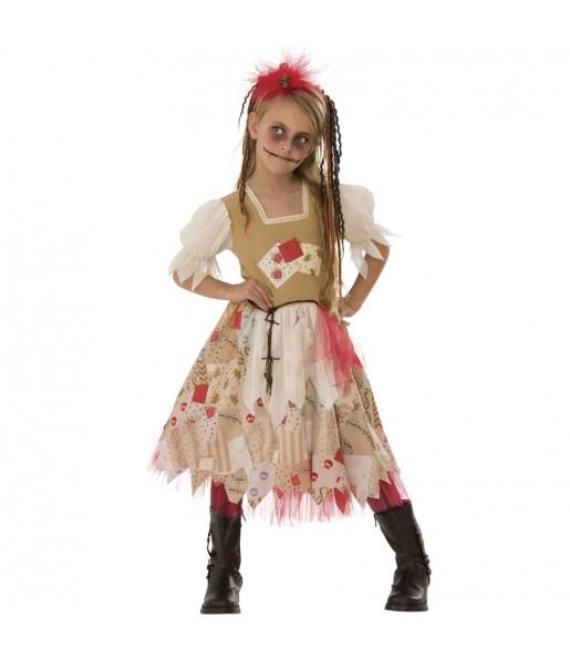 Disfraz de Muñeca Vudú para niña