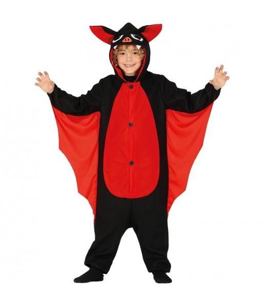 Disfraz de Murciélago Kigurumi para niño