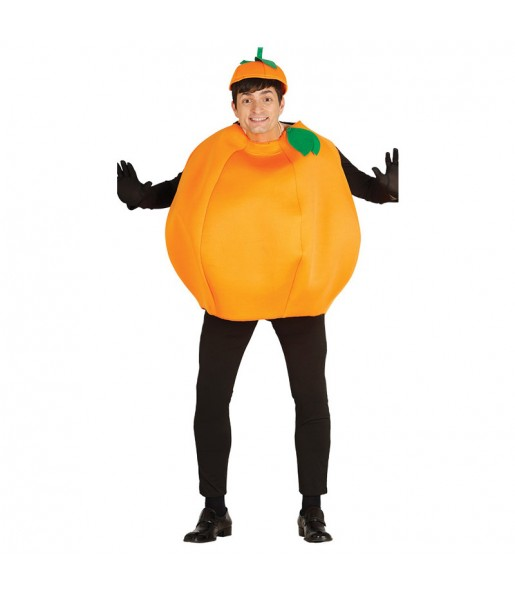Disfraz de Naranja Fruta Adulto