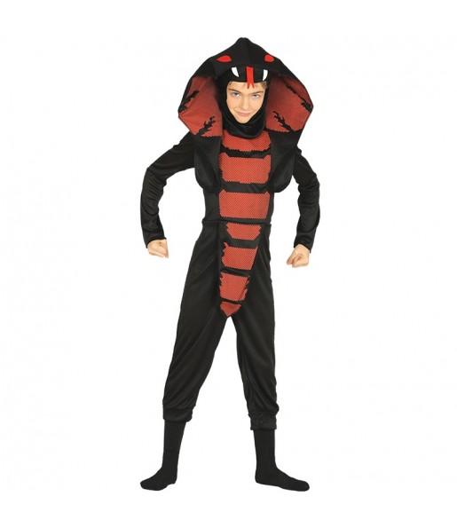 Disfraz de Ninja Cobra para niño