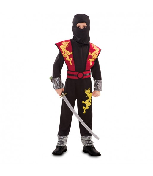 Disfraz de Ninja Dragón para niño