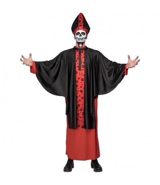Disfraz de Obispo Siniestro adulto