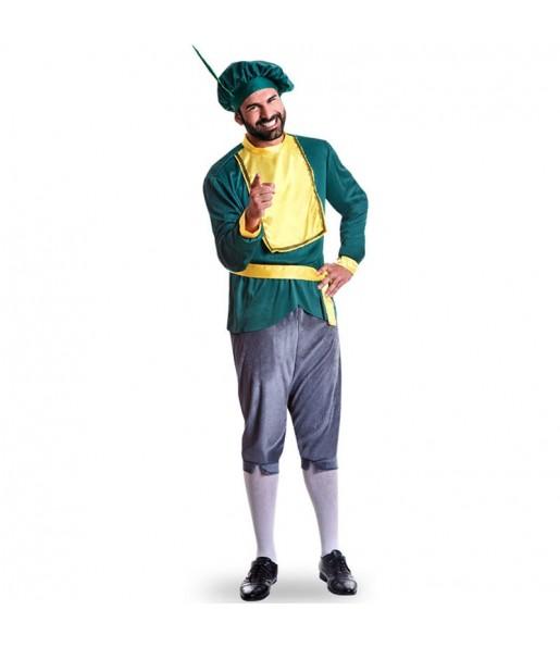 Disfraz de Paje Rey Melchor