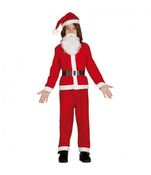 Disfraz pap noel barato ni o env os navidad en 24h - Disfraz papa noel nino ...