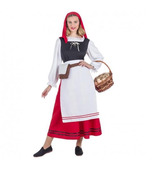 Disfraz de Pastora Navidad para mujer