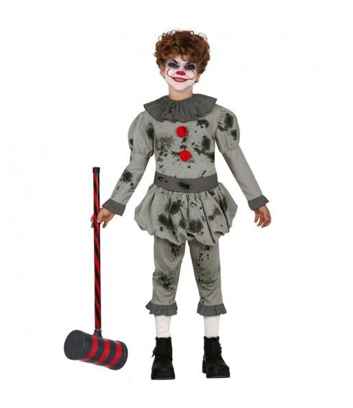 Disfraz de Payaso Asesino para niño