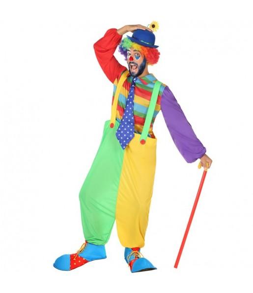 Disfraz de Payaso Circo para hombre