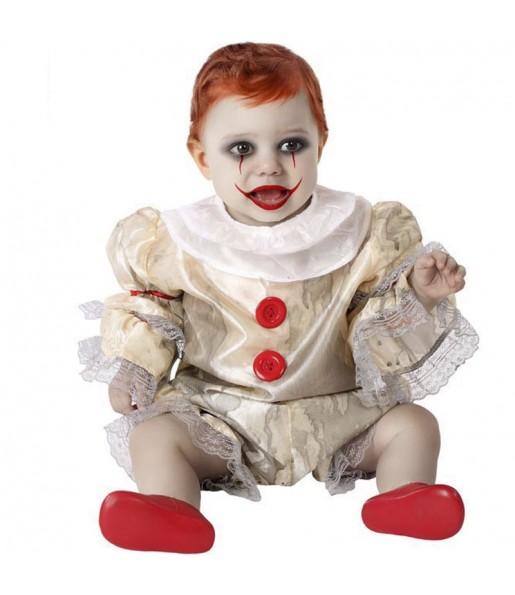 Disfraz de Payaso IT Pennywise para bebé