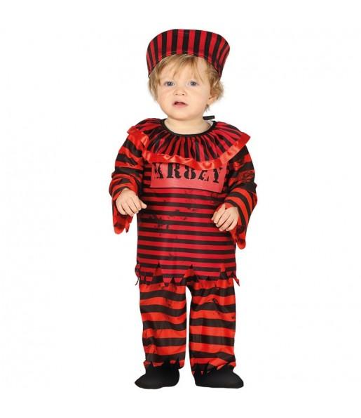 Disfraz de Payaso Pennywise para bebé
