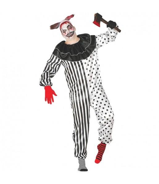 Disfraz de Payaso Psicópata para hombre