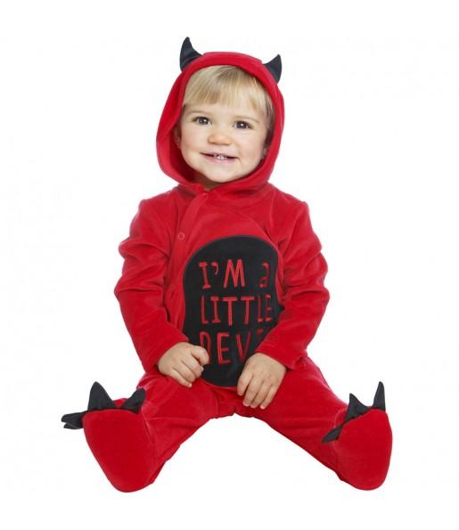 Disfraz de Pequeño Diablillo para bebé