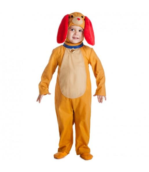 Disfraz de Perrito Marrón para niño