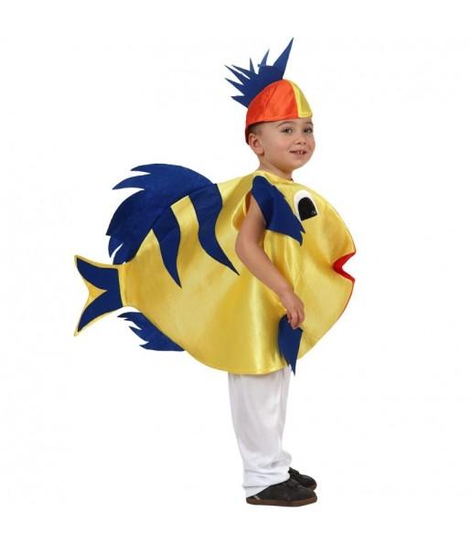 Disfraz de Pez amarillo niños