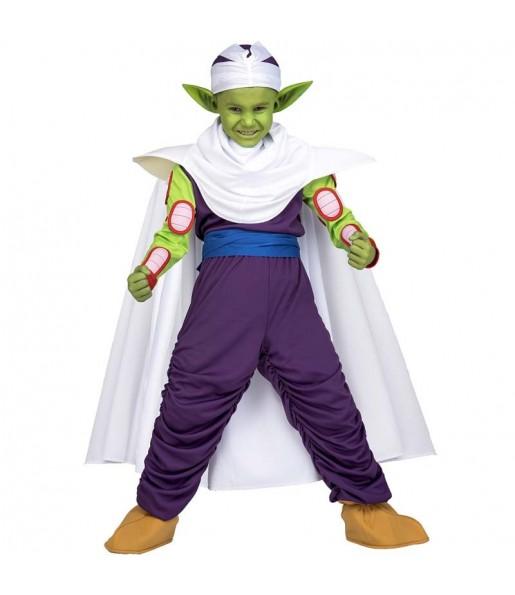 Disfraz de Piccolo para niño Dragon Ball