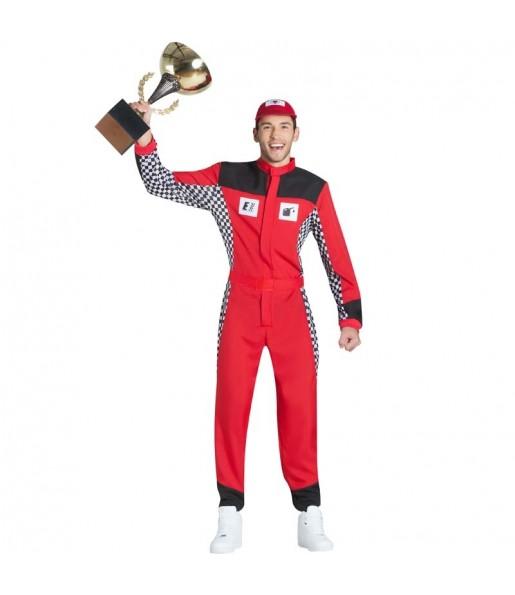 Disfraz de Piloto Carreras para hombre