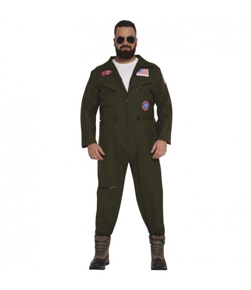 Disfraz de Piloto Combate para hombre