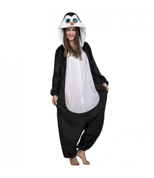 Disfraz de Pingüino Big Eyes para adulto