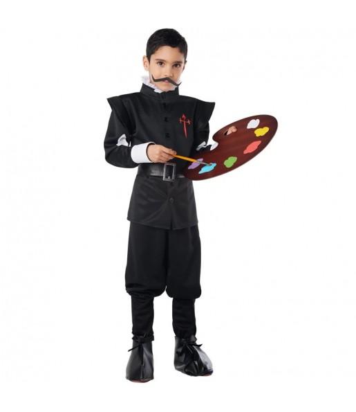 Disfraz de Pintor Velázquez para niño