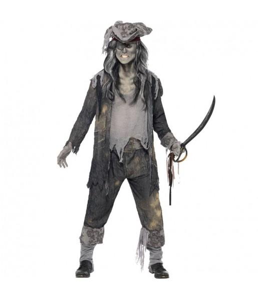 Disfraz de Pirata barco fantasma para hombre