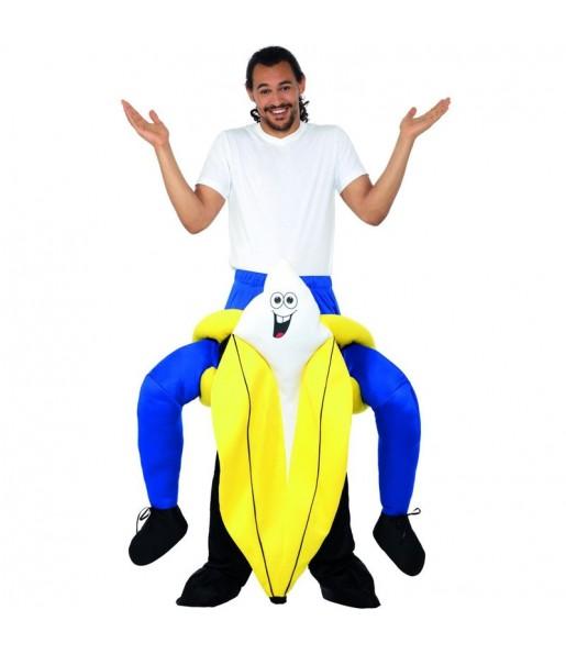 Disfraz de Plátano a hombros para adulto