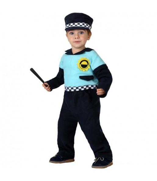 Disfraz de Policía Local bebé